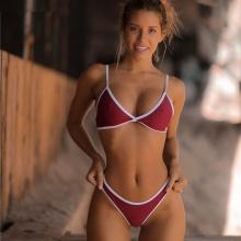 Women Bikini Set Triangle Multi-Color Swimwear
