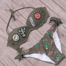 New Cute Bikini Summer Set Halter Top