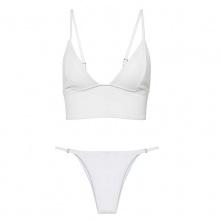 Free Shipping Women Bikini Set Lace Up Bandage