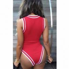 Women Bodysuit Beyonce Letter Bulls Basketball